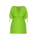 Tunika plażowa 209 wiązana w kolorze zielonym rozmiar 46/48