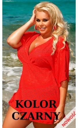 Sukienka plażowa 210 w kolorze czarnym