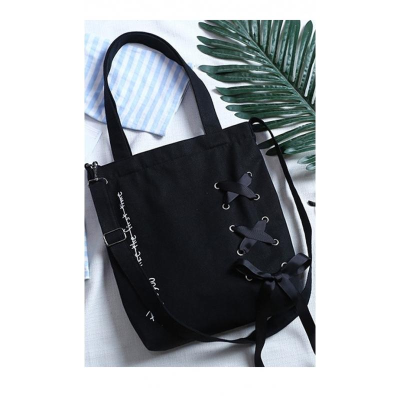 d844684078168 Stylowa torba na plażę i nie tylko z najnowszej kolekcji- kolor czarny