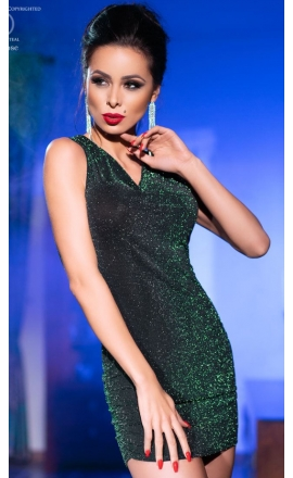 Sukienka erotyczna CR-4238 oliwkowa