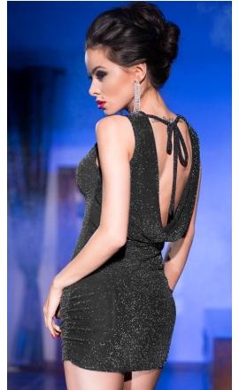 Sukienka erotyczna CR-4238 silver