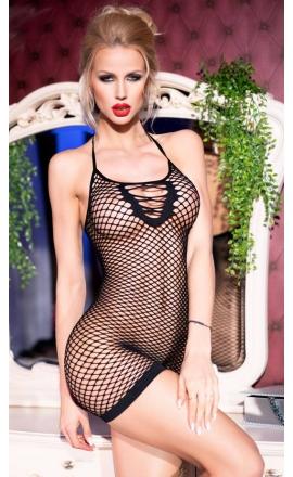 Sukienka erotyczna CR-4229 czarna