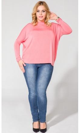 Bluzka T139 dużym rozmiarze