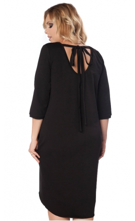 Sukienka Helena w kolorze czarnym XXL+
