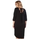 Sukienka Halina w kolorze czarnym XXL+