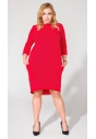 Sukienka T105 czerwona