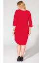 Sukienka dzianinowa w kolorze czerwieni
