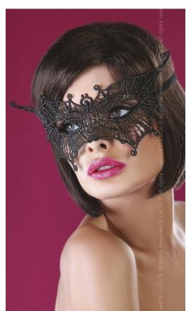 Maska na oczy koronkowa