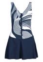 Strój kąpielowy F33A/711 - sukienka kąpielowa plus size