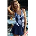 Strój kąpielowy F33A/711 - sukienka kąpielowa plus size rozmiar 3XL