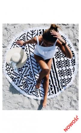 Ręcznik na plażę okragły