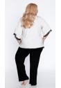 Piżama damska z wiskozy w dużym rozmiarze