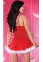Kostium mikołajki sukienka ze stringami