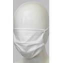 Maseczka ochronna flizelinowa higieniczna biała
