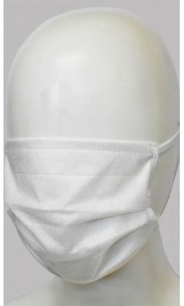 Maseczka higieniczna ochronna biała komplet 5 szt.
