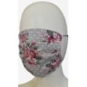 Maseczka ochronna bawełniana z kwiatowym wzorem