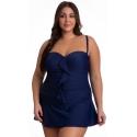 Kostium kąpielowy jednoczęściowy sukienka kąpielowa 509