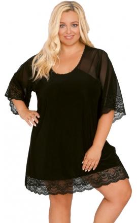 Koszulka nocna Akcent model 503 czarna