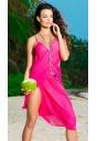 Pareo plażowe Primo 214 col.2 różowe