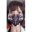 Maseczka ochronna print maska gazowa