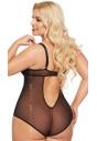 Body erotyczne Softline Amanda czarne tył