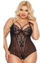Body erotyczne Softline Amanda czarne