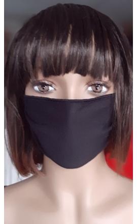 Maseczka ochronna bawełniana czarna