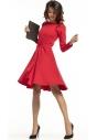 Sukienka rozkloszowana Tessita T287 czerwona