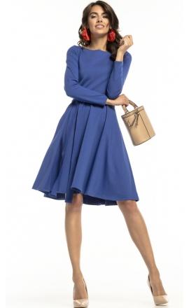 Sukienka rozkloszowana Tessita T287 chabrowa