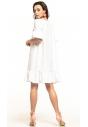 Sukienka midi Tessita T315 biała tył