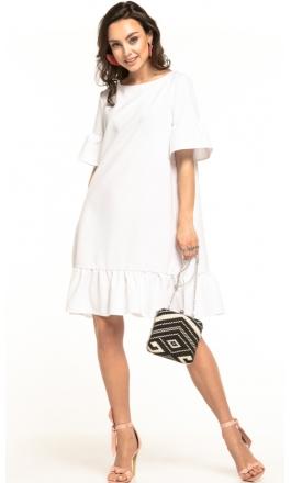 Sukienka midi Tessita T315 biała
