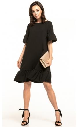 Sukienka midi Tessita T315 czarna