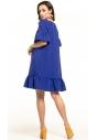 Sukienka midi Tessita T315 chabrowa tył