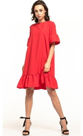 Sukienka midi Tessita T315 malinowa