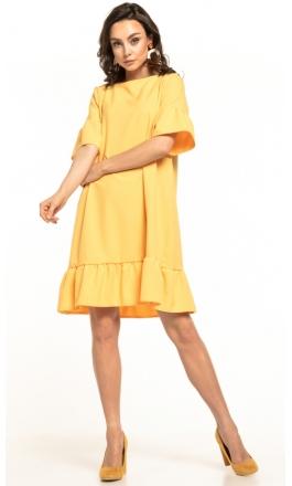 Sukienka midi Tessita T315 żółta