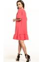 Sukienka midi Tessita T315 koralowa tył