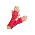 Rękawiczki bez palców w kolorze czerwonym G-606