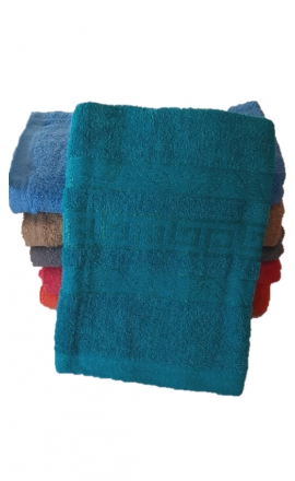 Ręcznik kąpielowy w kolorze turkusowym