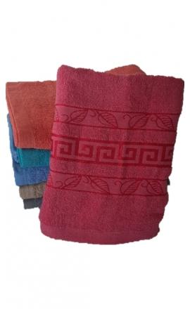 Ręcznik kąpielowy w kolorze różowym