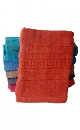 Ręcznik kąpielowy w kolorze pomarańczowym