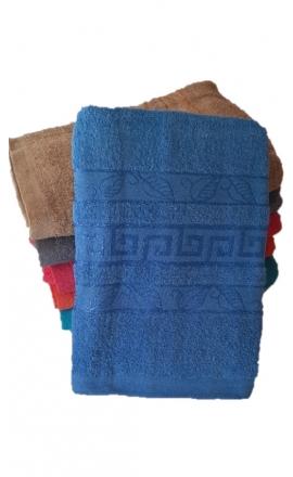 Ręcznik kąpielowy w kolorze niebieskim