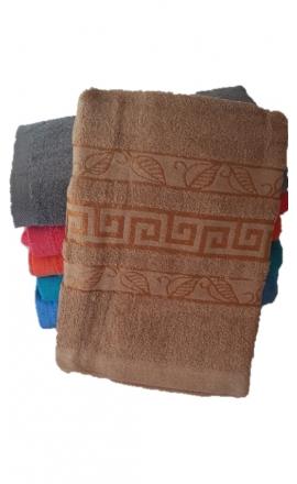 Ręcznik kąpielowy w kolorze brazowym