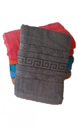 Ręcznik kąpielowy w kolorze szarym