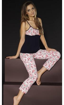 Piżama damska młodzieżowa Donna BN-030