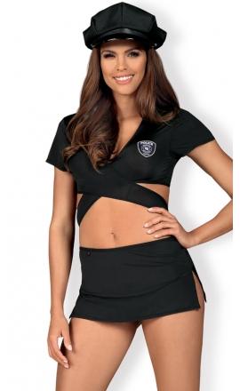 Strój policjantki Obsessive Police uniform
