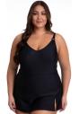 Sukienka kąpielowa strój kąpielowy Primo 510 col.2 czarny
