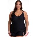 Sukienka kąpielowa strój kąpielowy w kolorze czarnym 510 col.2