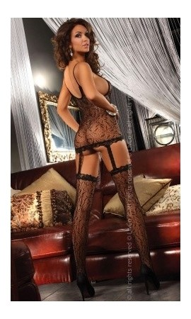 Bodystocking Catriona seksowny komplet