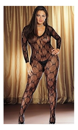 DM-0019X duże bodystocking XXL