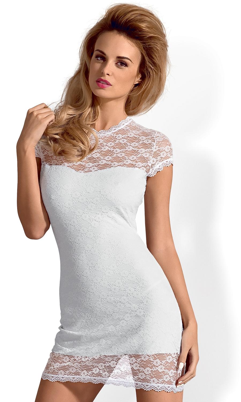 Koszulka nocna Obsessive Dressita koronkowa